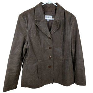 Wilsons Leather Jackets & Coats - Wilsons Brown Leather Jacket Coat Maxima Size XL